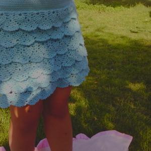ручная работа юбочка для девочки 3-5 лет